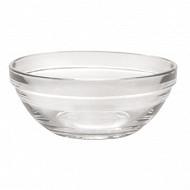 Coupelle 12cm lys empilable verre transparent