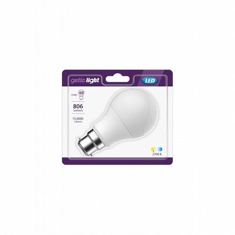 Gétic ampoule LED standars équivalent 60W B22