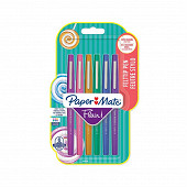 Papermate 6 feutres flair candy pop