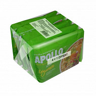 Apollo nouille légumes 425g 4+1