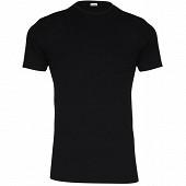Tee shirt manches courtes col rond ligne Héritage Eminence 007 NOIR T8