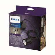 Philips corde suspension Lampes LED Modern E27 Noire 1CT/4