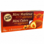 Mini cake abricot  5 x 30 g