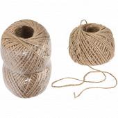 Lot de 2 bobines de corde 50 m