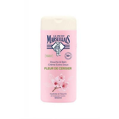 Le Petit Marseillais Le petit marseillais douche & bain fleur de cerisier 650ml