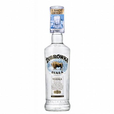 Zubrowka biala + shot 70cl 37,5%vol