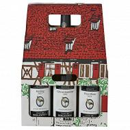 Coffret Maisonnette Alsace Blanc 12.5% Vol. 3x75cl