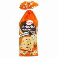 Cora brioche tranchée pépites chocolat 500g