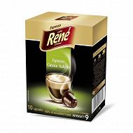 Cafe espresso italiano capsules hermétique x 10
