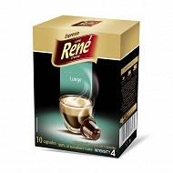 Café Espresso Longo capsules hermétique x10