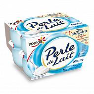 Perle de lait nature 8x125g offre découverte