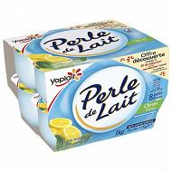 Perle de lait aromatisé citron 8x125g offre découverte