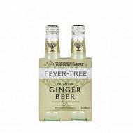 Fever tree ginger beer 4x20cl