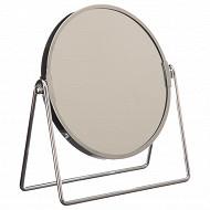 Miroir balançoire chromé