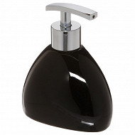 Distributeur savon silk noir