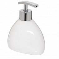 Distributeur savon silk blanc