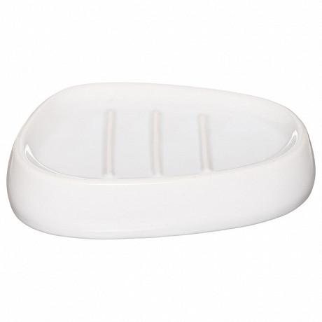 Porte-savon silk blanc