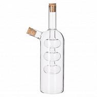 Bouteille design en verre huile & vinaigre