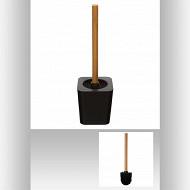Pot et brosse wc naturéo noir