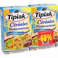 Tipiak lot 2 céréales méditérranéennes 400g