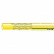 Ribiland tuyau d'arrosage antivrille jaune 50 mètres diamètre de 15 mm