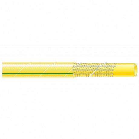 Ribiland tuyau d'arrosage antivibrille jaune 25 mètres diamètre de 15 mm
