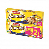 Brossard lot 2 savane pépit' pocket x7 210g
