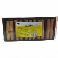 Biscuits roulés croustillants 125 g