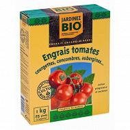 Jardinez bio engrais tomates boite de 1kg jardinage biologique