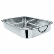 Table wear plat a four en inox 30.5 cm