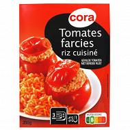 Cora tomates farcies et riz cuisiné 350g