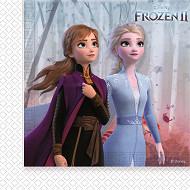Serviettes x20 frozen 2 33x33cm