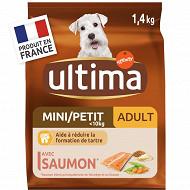 Ultima chien mini adulte saumon 1.4kg