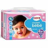 Cora baby couches bébé taille 4+ (9 à 20kg) x48