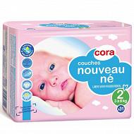Cora baby couches taille 2 nouveau ne (3 à 6kg) x31
