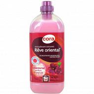 """Cora assouplissant concentré fraicheur rose """"rêve oriental"""" 1.5l"""
