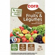 Cora engrais fruits et legumes AB 1kg