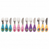 Nuby couverts inoxydables - 12m+