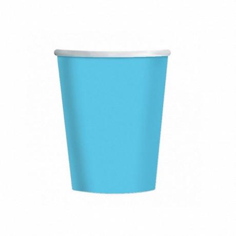 25 gobelet carton fiesta 20 cl 7oz turquoise