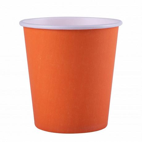 25 gobelet carton fiesta 20 cl 7oz mandarine