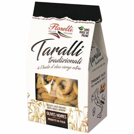 Florelli taralli alle olive nere