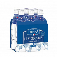 Lorina limonade verre pack 6x20cl