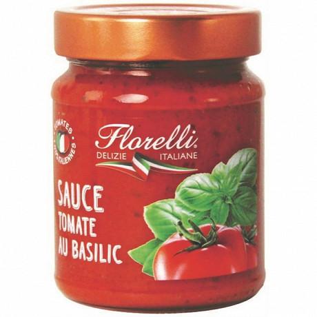 Florelli sauce tomate au basilic 250g