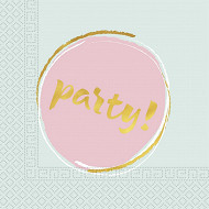 Serviettes x20 party 2 plis