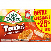 Isla Délice halal tenders original  + 25% offerts 450g