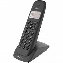 Logicom Téléphone solo sans fil répondeur VEGA 155T SOLO NOIR