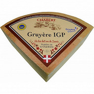 Gruyère igp chambotte 35%mg/poids total