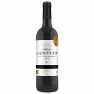 Blaye Côtes de Bordeaux Château la Goutte d'Or 14.5% Vol.75cl
