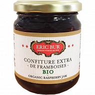 Eric Bur confiture extra de framboises bio 250g