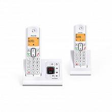 Alcatel Téléphone sans fil répondeur F630 VOICE DUO GRIS